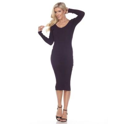 ホワイトマーク レディース ワンピース トップス Women's Destiny Sweater Dress