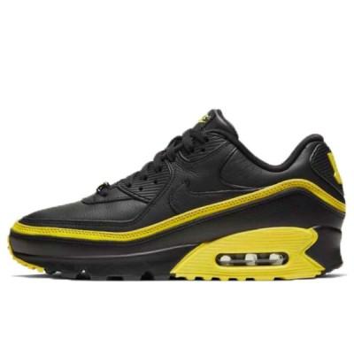 ナイキ エアマックス90 アンディフィーテッド 24.5cm Nike Air Max 90 Undefeated Black Optic Yellow CJ7197-001 安心の本物鑑定