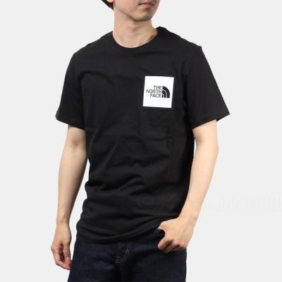 ザ ノースフェイス THE NORTH FACE メンズ Tシャツ 半袖 FINE TEE TNF BLACK 全5サイズ 全2カラー CEQ5 売れ筋 ネコポス選択で送料240円