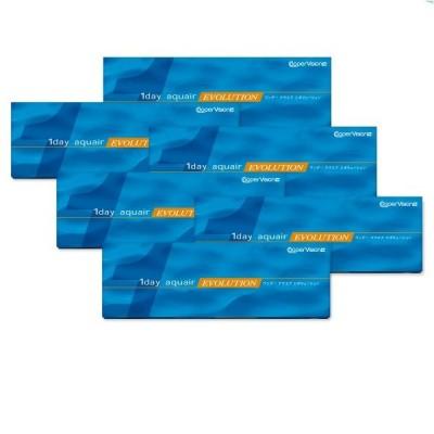 国内正規品 クーパービジョン ワンデー アクエア エボリューション 30枚 入り 要処方箋 コンタクト レンズ 1day 6箱