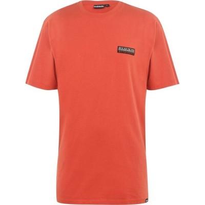ナパピリ Napapijri Tribe メンズ Tシャツ トップス Sase Short Sleeve T Shirt Orange