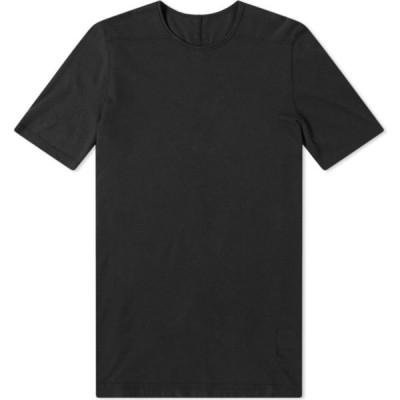 リック オウエンス Rick Owens メンズ Tシャツ トップス DRKSHDW Lightweight Level Tee Black