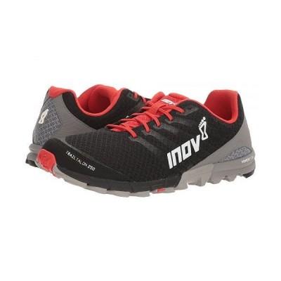 Inov-8 イノヴェイト メンズ 男性用 シューズ 靴 スニーカー 運動靴 TrailTalon 250 - Black/Red/Grey
