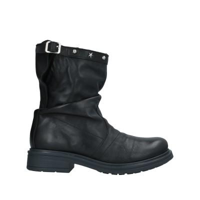 TSD12 ショートブーツ ブラック 39 牛革(カーフ) ショートブーツ