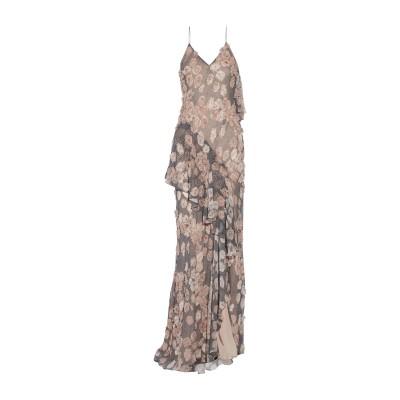 ジェイソン・ウー JASON WU ロングワンピース&ドレス ブラック 4 シルク 100% ロングワンピース&ドレス