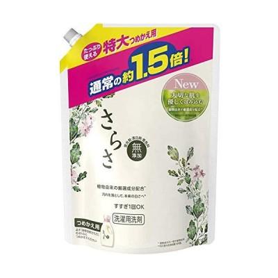 《セット販売》 P&G さらさ 洗剤ジェル 特大サイズ つめかえ用 (1200g)×6個セット 詰め替え用 液体 洗濯洗剤