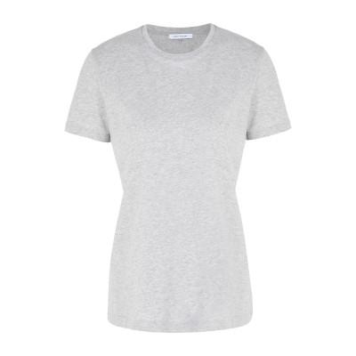 NINETY PERCENT T シャツ ライトグレー L オーガニックコットン 100% T シャツ