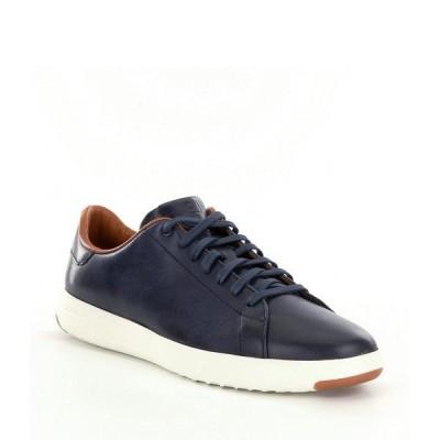 コールハーン メンズ スニーカー シューズ Men's GrandPro Tennis Shoes Blazer Blue