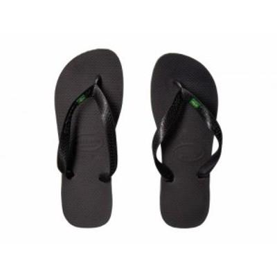 Havaianas ハワイアナス レディース 女性用 シューズ 靴 サンダル Brazil Flip Flops Black【送料無料】