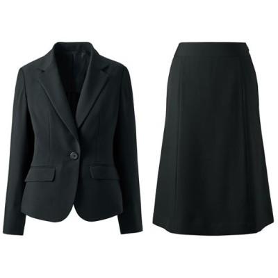デザインが選べるスカートスーツ(タイトスカート・マーメイドスカート・洗濯機OK)/ブラックA(マーメイド)/15ABR80