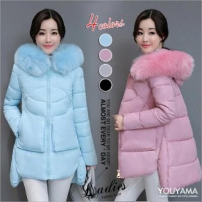 【送料無料】綿入れ 中綿ジャケット 中綿コート フード付き レディース コート ジャケット 冬 防寒 防風 保温 セール アウトレット
