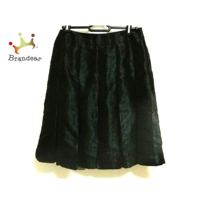 ボディドレッシングデラックス BODY DRESSING Deluxe スカート サイズ38 M レディース 美品 黒   スペシャル特価 20201122