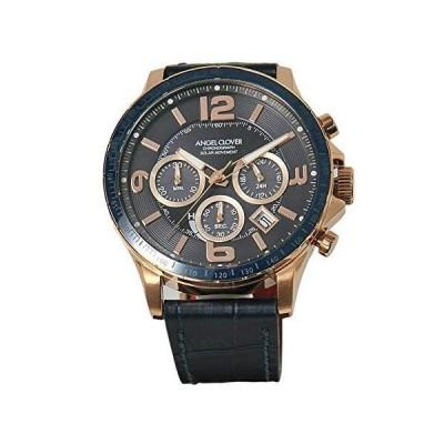 (エンジェルクローバー)angel clover 腕時計 メンズ ソーラークオーツ TIME CRAFT SOLAR ネイビー 正規取扱店