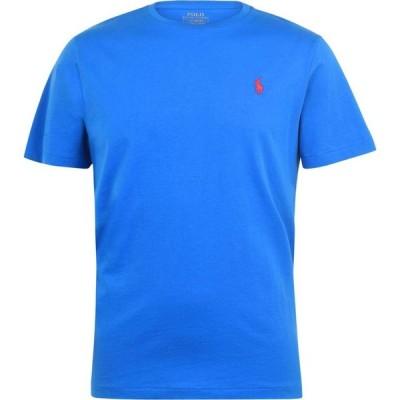 ラルフ ローレン Polo Ralph Lauren メンズ Tシャツ トップス Custom T Shirt Colby Blue