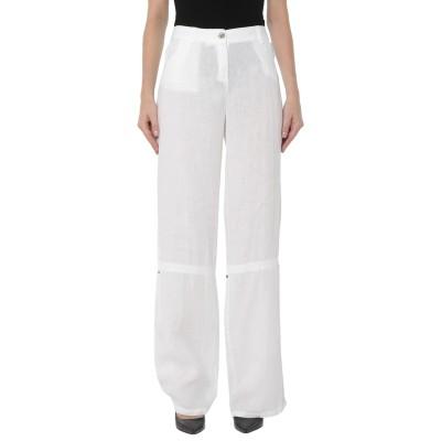 MARELLA パンツ ホワイト 44 リネン 100% パンツ