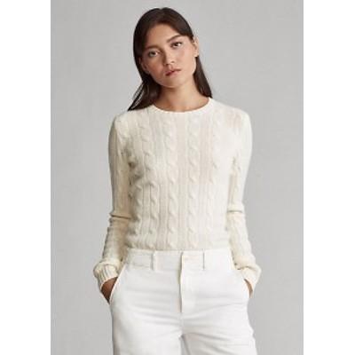 ラルフローレン レディース セーター Polo Ralph Lauren Tie-Dye Cable-Knit Sweater ニット Cream
