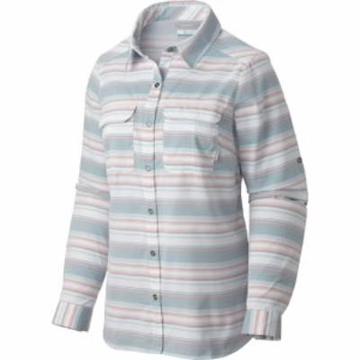 コロンビア Columbia レディース トップス Pilsner Peak Stripe L/S Shirt Cloudburst Stripe