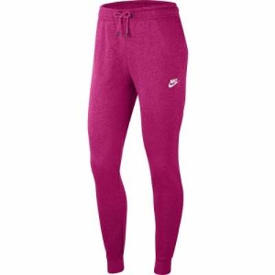 ナイキ Nike レディース ボトムス・パンツ NSW Essential Pants Regular Fleece Fireberry/Heather/White