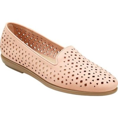 エアロソールズ Aerosoles レディース スリッポン・フラット シューズ・靴 You Betcha Slip-On Light Pink Faux Leather