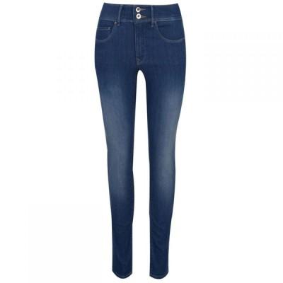 サルサ Salsa レディース ジーンズ・デニム スキニー ボトムス・パンツ Secret Mid Waist Skinny Jeans