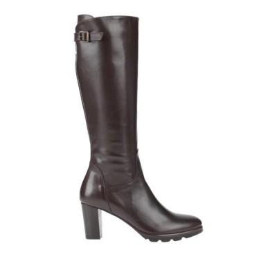 CALPIERRE ブーツ ファッション  レディースファッション  レディースシューズ  ブーツ  その他ブーツ ダークブラウン