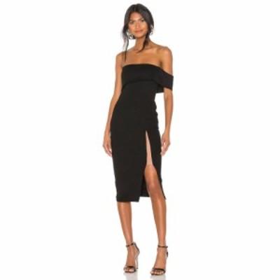 マイケル コステロ Michael Costello レディース ワンピース ワンピース・ドレス x REVOLVE Audrey Dress Black