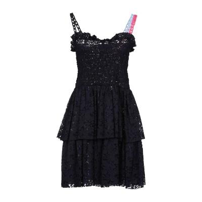 ピンコ PINKO ミニワンピース&ドレス ブルー 44 コットン 72% / ナイロン 28% / ポリエステル ミニワンピース&ドレス