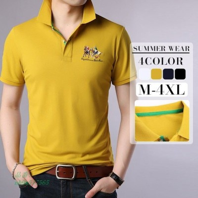 tシャツ メンズ 半袖 カジュアル 軽い 無地 かっこいい カットソーファション五分袖コットン快適な おしゃれブランド 吸汗