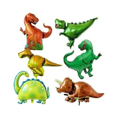 Pile Stone アルミ 風船 Big サイズ 恐竜 おもちゃ アルミバルーン 恐竜セット 迫力満点 誕生日 装飾 部屋飾り