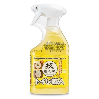トイレ掃除 洗剤 500ml トイレ職人 技職人魂 業務用洗剤 ( トイレ 掃除 尿石 )