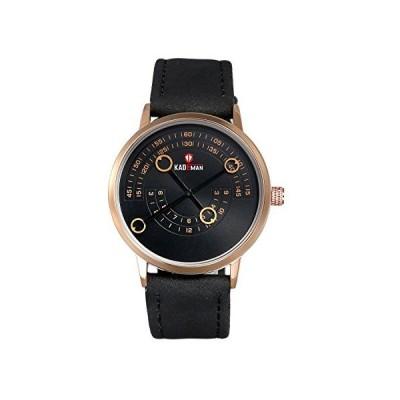 Lancardo メンズ腕時計 ステンレスウォッチ 3ATM防水 IPめっき メッシュバンドベルト クオーツ アナログ表示 復古