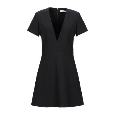 クロエ CHLOÉ ミニワンピース&ドレス ブラック 36 バージンウール 100% ミニワンピース&ドレス