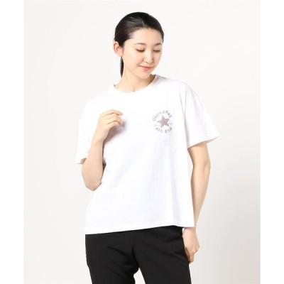 tシャツ Tシャツ CONVERSE◆パッチロゴサガラワッペン無地Tシャツ
