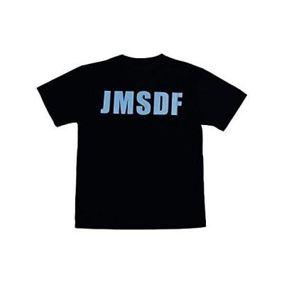 自衛隊グッズ 海上自衛隊 Tシャツ JMSDF ドライ ネイビー (M)