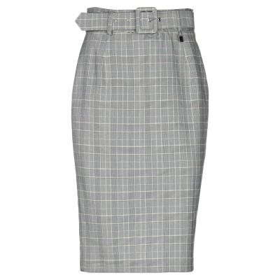 FLY GIRL ひざ丈スカート イエロー 40 ポリエステル 80% / レーヨン 18% / ポリウレタン 2% ひざ丈スカート