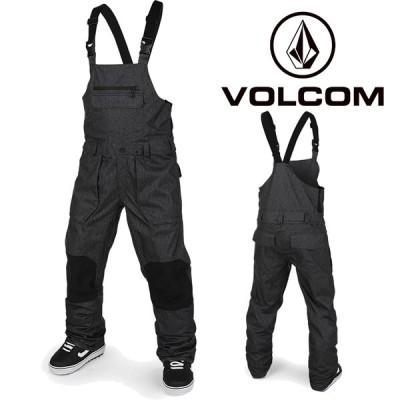 ボルコム ウェア オーバーオール 20-21 VOLCOM ROAN BIB OVERALL BTS-Black Static G1351909 スノーボード ビブパンツ 日本正規品