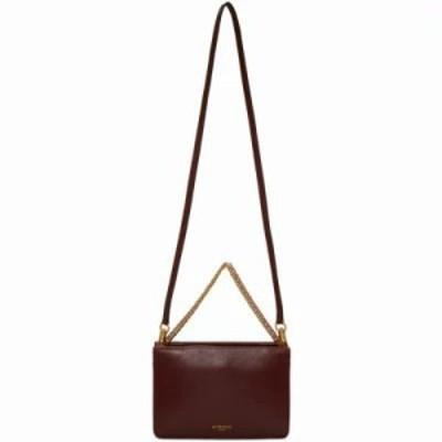 ジバンシー ショルダーバッグ Burgundy & Grey Cross 3 Bag
