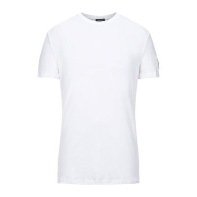 ディースクエアード DSQUARED2 アンダーTシャツ ホワイト XXL コットン 95% / ポリウレタン 5% アンダーTシャツ