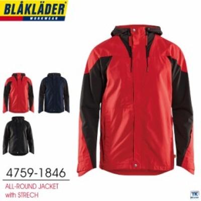 オールラウンドジャケット BLAKLADER ブラックラダー 作業着 作業服 撥水 bb-4759-1846
