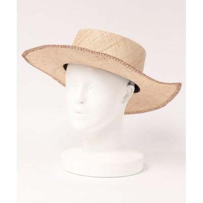 Apuweiser-riche / かがりサマーハット WOMEN 帽子 > ハット