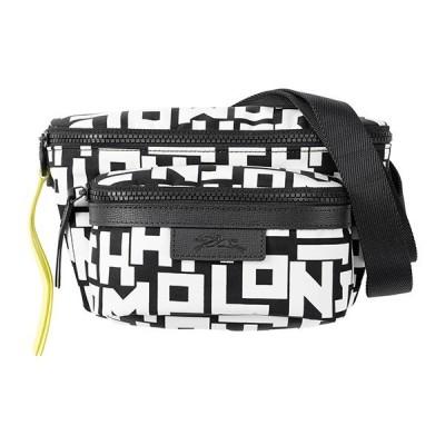 ロンシャン ウエストバッグ・ボディバッグ BELT BAG M 1034 412 067 ブラック 黒/ホワイト 白