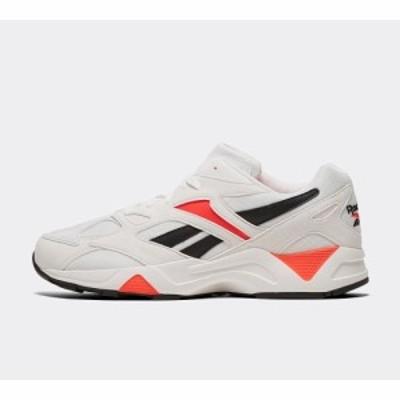 リーボック Reebok メンズ スニーカー シューズ・靴 aztrek 96 trainer White/Porcelain/Neon Red