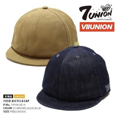 セブンユニオン 7UNION 帽子 メンズ キャップ ブランド レディース ワーク 作業帽 CAP おしゃれ 7USB ロゴ刺繍 ボードスポーツ サイクリング
