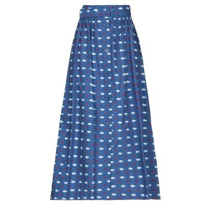 VIVETTA ロングスカート ブルー 40 コットン 100% ロングスカート