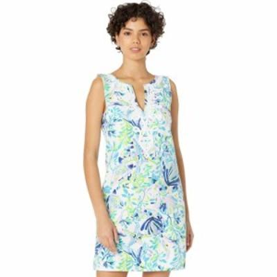 リリーピュリッツァー Lilly Pulitzer レディース ワンピース ワンピース・ドレス Harper Shift Resort White Shell Beach