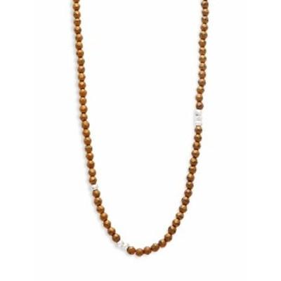 リンクアップ メンズ アクセサリー Beaded Single Strand Necklace
