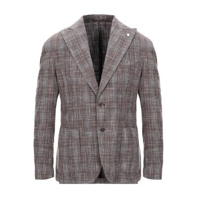 BRANDO テーラードジャケット カーキ 46 ウール 42% / コットン 36% / ナイロン 20% / シルク 2% テーラードジャケット