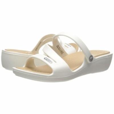 クロックス Crocs レディース サンダル・ミュール シューズ・靴 Patricia Oyster/Gold