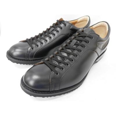 REGAL リーガル レザースニーカー 57RR(ブラック)メンズ 靴