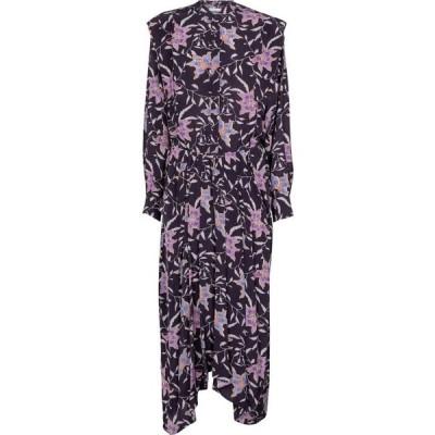 イザベル マラン Isabel Marant, Etoile レディース ワンピース ミドル丈 ワンピース・ドレス Okley floral midi dress Faded Night